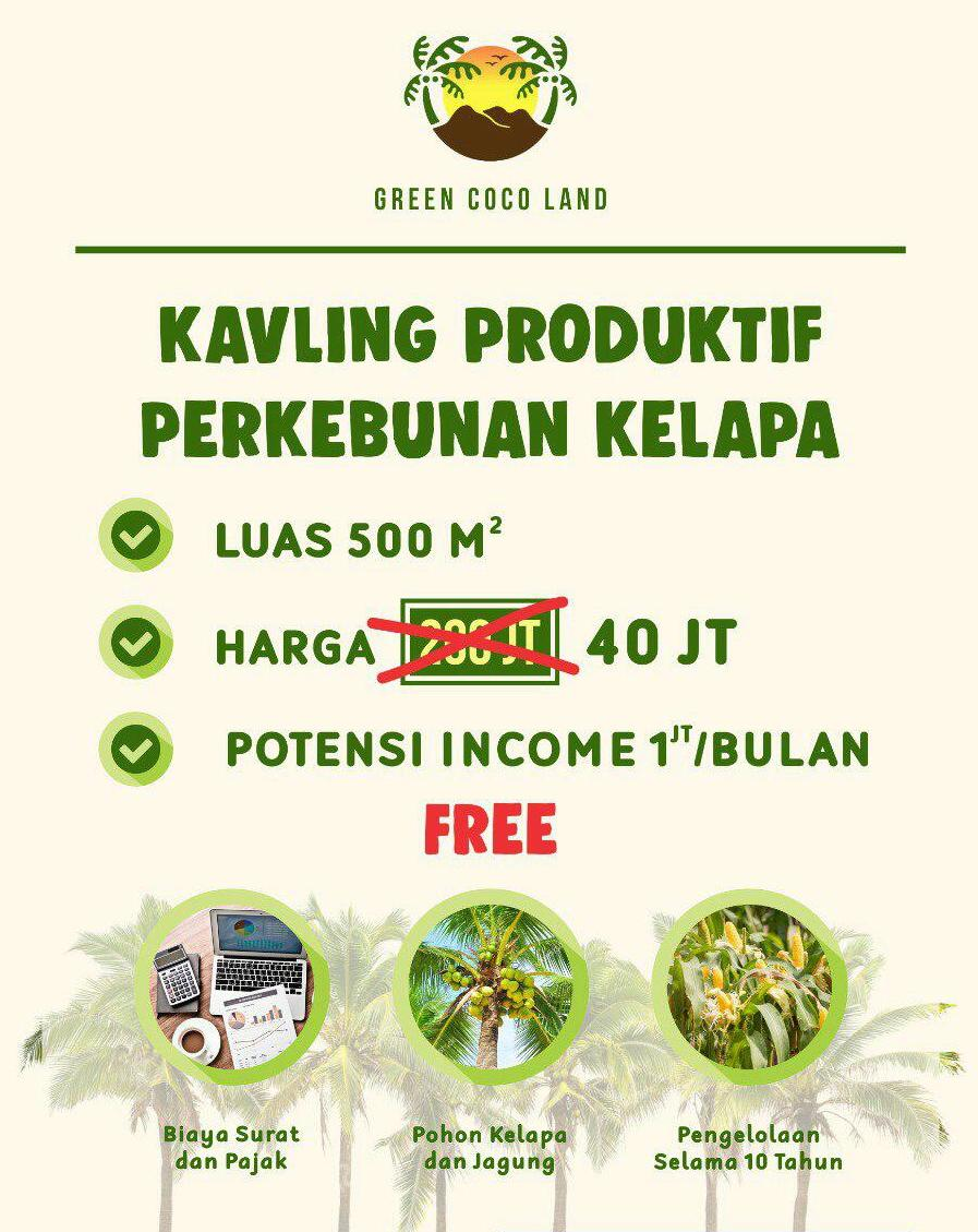 harga green coco land sept