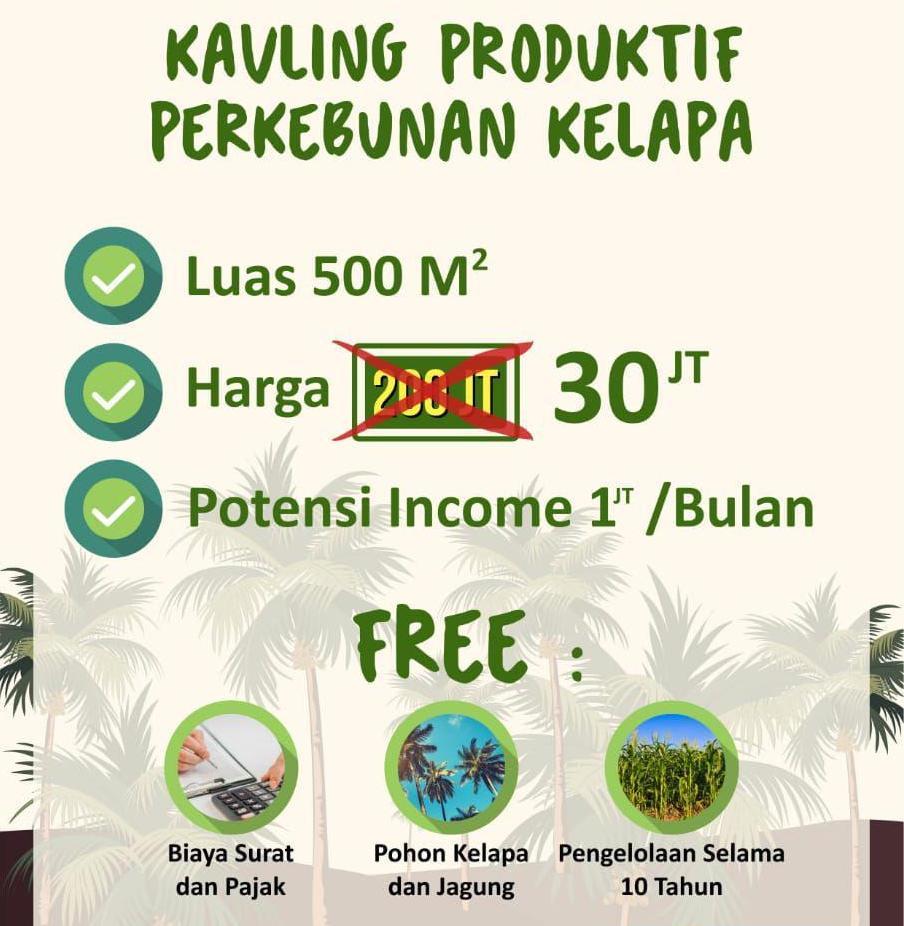 harga green coco land