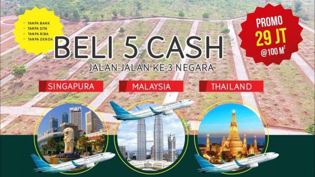 Kavling Buah Lantaburo Memberikan Bonus Trip 3 Negara