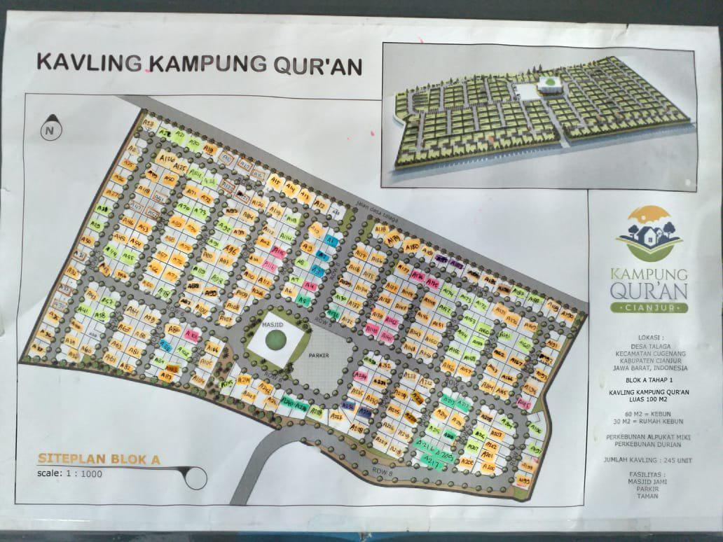 siteplan kampung quran cianjur all