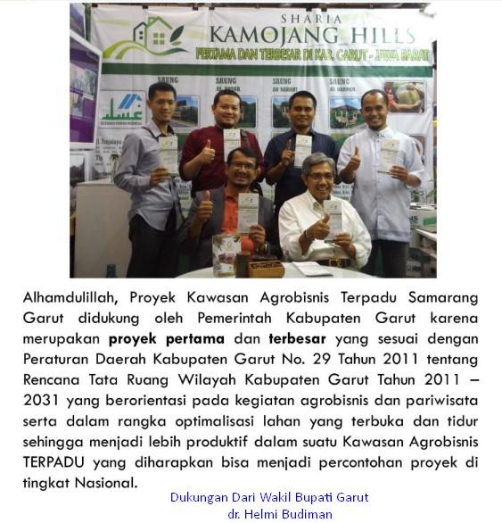dukungan pemerintah ke sharia kamojang hills